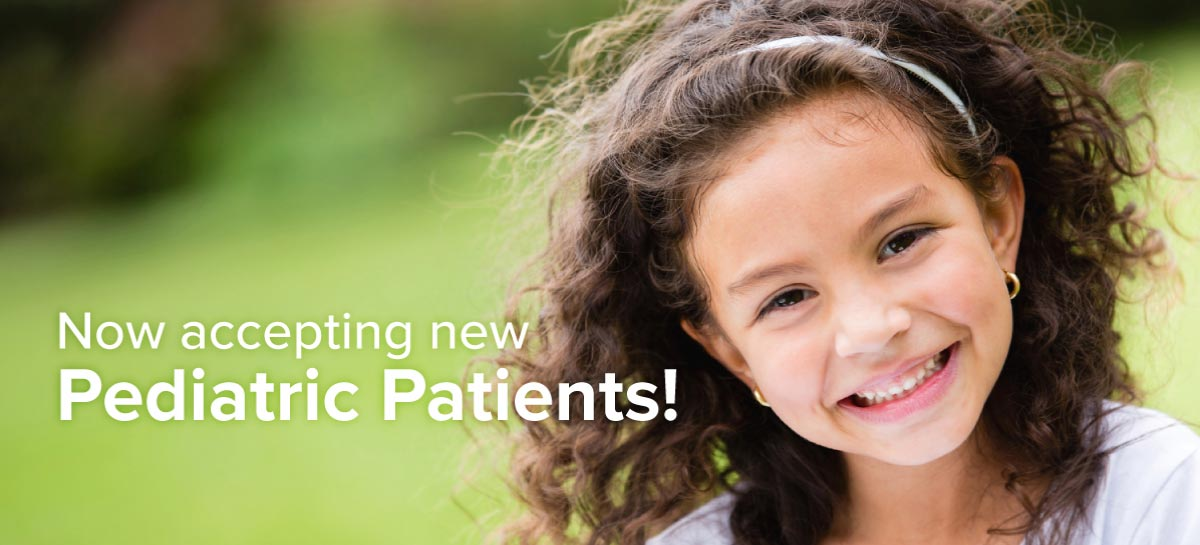 Now accepting new pediatric patients