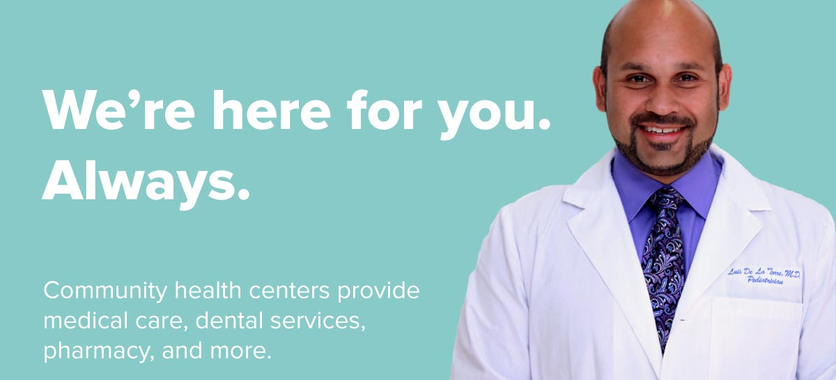 We're here for you. Always.