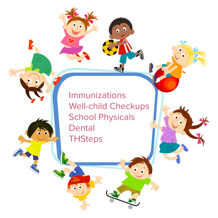 Su Clinica Pediatrics offers: immunizations, well-child checkups, school physicals, dental, THSteps, and more.